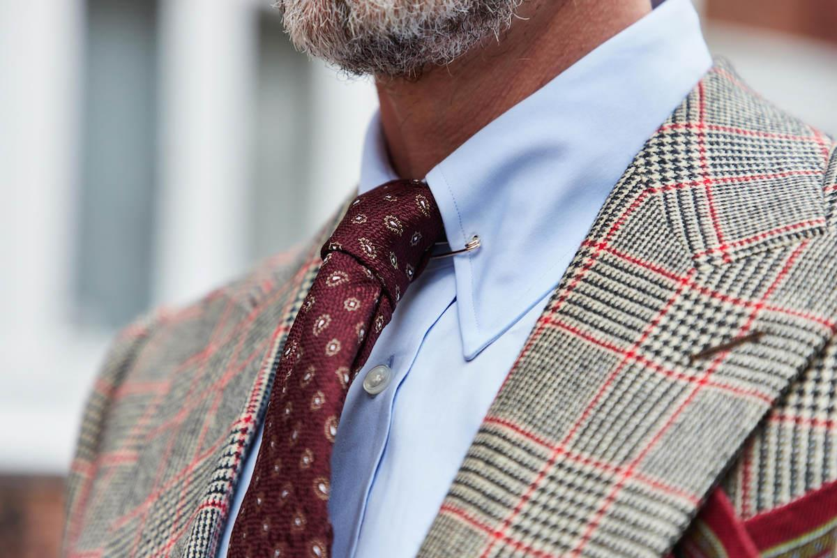 What Does a Custom-Made Plaid Suit Say About You?